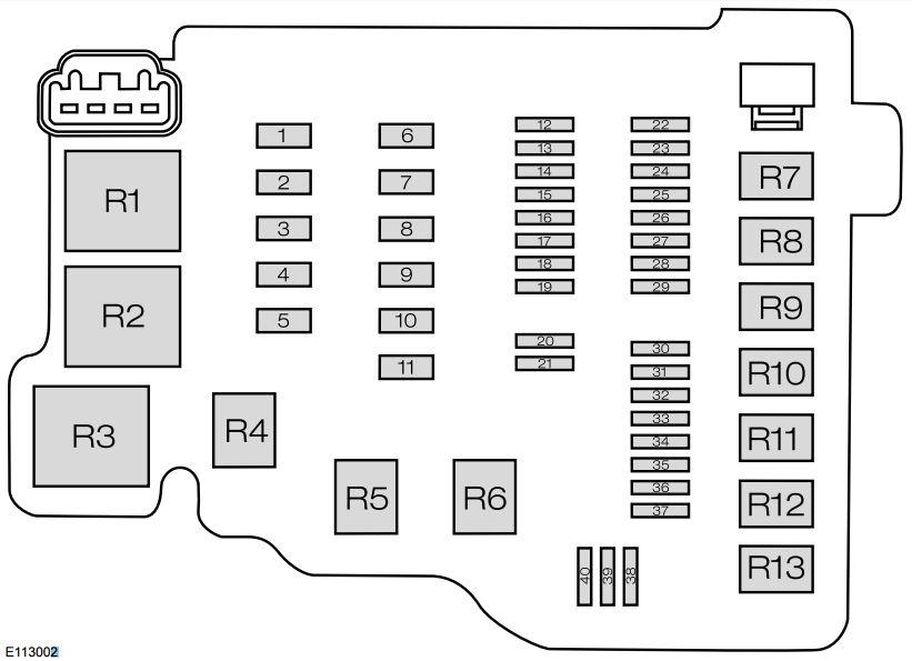 ford fiesta  from 2015   u2013 fuse box diagram  india version