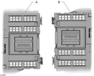 Ford Focus mk2 (2006) – central fuse box – (EU version)