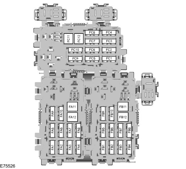 Ford Galaxy Mk2  2006  U2013 2014   U2013 Fuse Box Diagram  Eu
