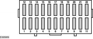 ford ka mk1 1996 2007 fuse box diagram eu version. Black Bedroom Furniture Sets. Home Design Ideas
