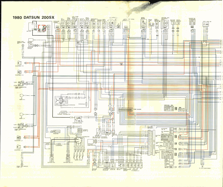 Datsun 200sx  1980   U2013 Wire Diagram