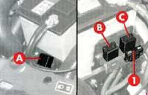Alfa Romeo 145 – fuse box diagram – additional fuses (1.9 JTD)