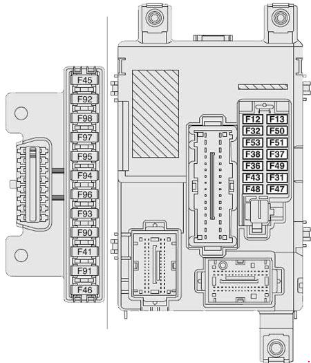 Fiat Doblo  2010  U2013 Present   U2013 Fuse Box Diagram