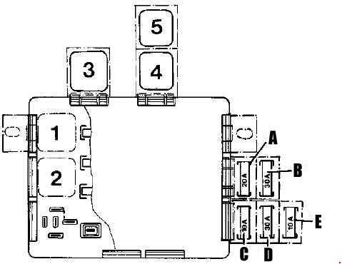 fiat uno fuse box diagram carknowledge. Black Bedroom Furniture Sets. Home Design Ideas