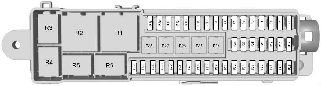 Ford Escape  2013  U2013 Present   U2013 Fuse Box Diagram