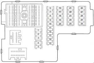 ford explorer u152  2000  u2013 2006   u2013 fuse box diagram