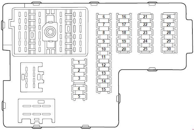 Ford Explorer U152 (2000 - 2006) - fuse box diagram ...