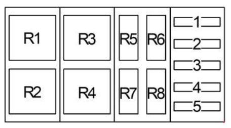 Ford F-750 (2000 - 2003) - fuse box diagram - CARKNOWLEDGE