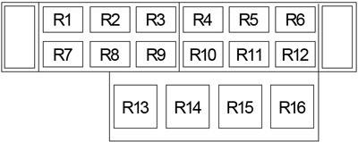 Ford F-750 (2004 - 2010) - fuse box diagram - CARKNOWLEDGE