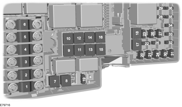 Ford Focus – EU (C307) – (from 2007) – fuse box (EU version) -  Carknowledge.infoCarknowledge.info