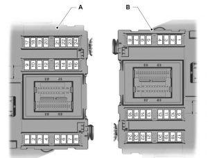 Ford Mondeo MK4 (20/08/2007 – 03/02/2008) – fuse box diagram (EU version) - CARKNOWLEDGE
