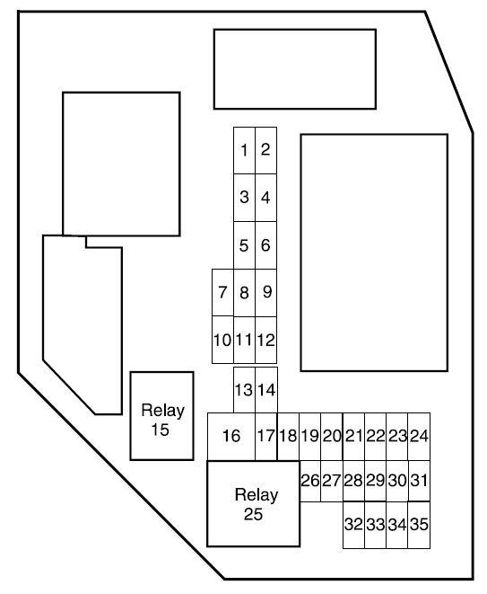 Ford Ranger  2008   U2013 Fuse Box Diagram
