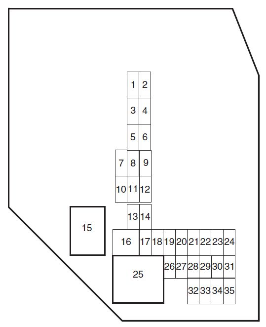 ford ranger  2010  u2013 2011   u2013 fuse box diagram