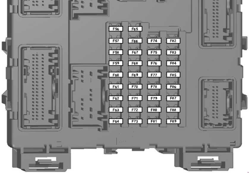 Ford Ranger T6  2011  U2013 2018   U2013 Fuse Box Diagram