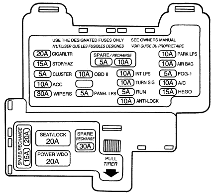1993 toyota paseo fuse box diagram wiring diagram rh 43 fomly be