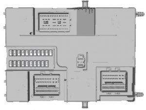 Ford Transit Custom (2015) – body control module fuse box