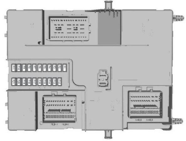 Ford Transit Custom  From 2015   U2013 Fuse Box Diagram  Eu