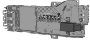 Ford Transit Custom (2015) – pre fuse box