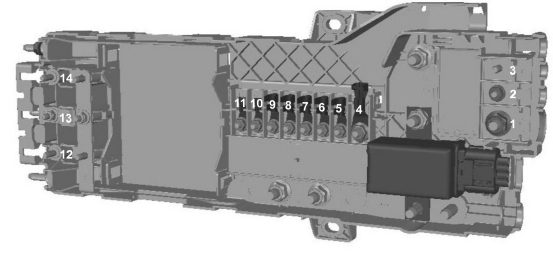 Ford Transit Custom  From 2015   U2013 Fuse Box Diagram  Eu