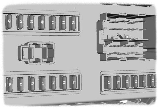 Ford Transit Mk7  2006 - 2014   U2013 Fuse Box  Eu Version