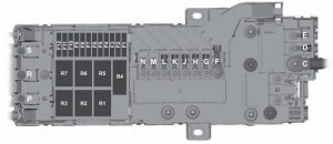 Ford Transit 5th generation – pre fuse box – (USA version)
