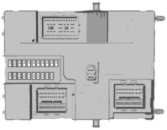 Ford Tourneo Custom  2015   U2013 Fuse Box Diagram  Eu Version