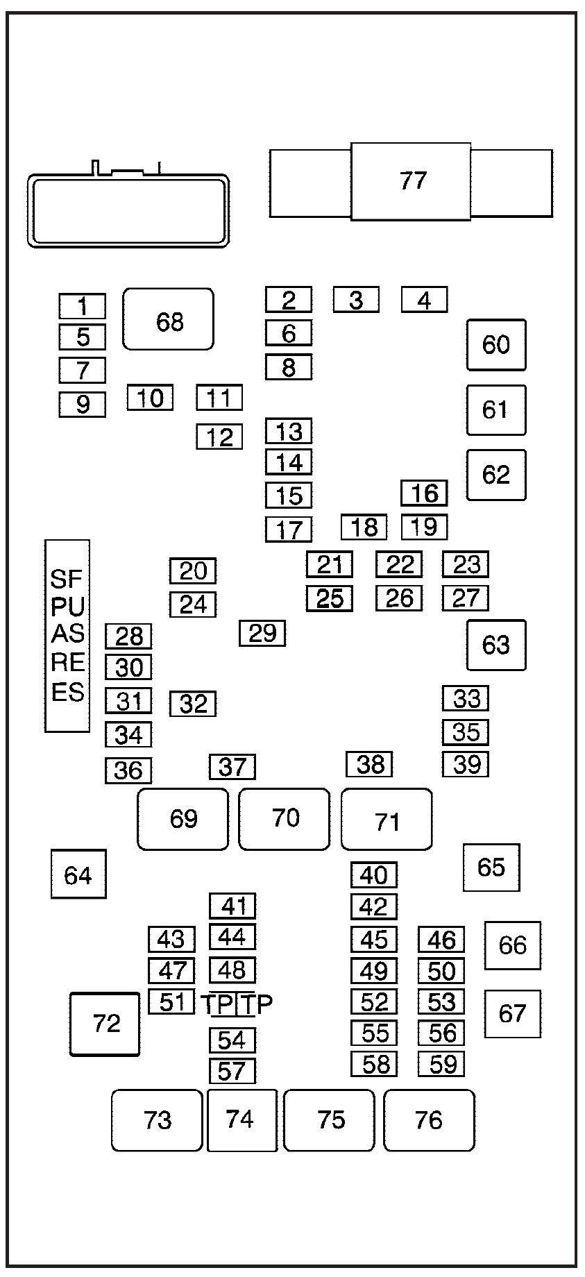 gmc savana  2008  u2013 2010   u2013 fuse box diagram