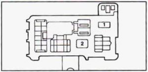 geo prizm  1990  u2013 1995   u2013 fuse box diagram