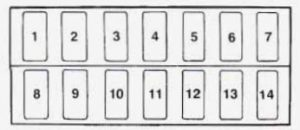 geo tracker  1996  u2013 1997   u2013 fuse box diagram