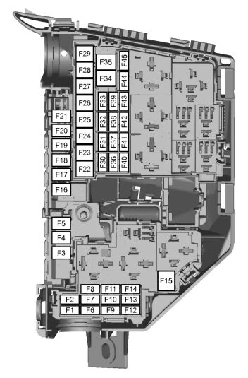 Ford S-max Mk1  2006  U2013 2015   U2013 Fuse Box Diagram  Eu Version