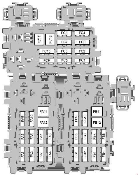ford s max 2006 2015 fuse box diagram carknowledge. Black Bedroom Furniture Sets. Home Design Ideas