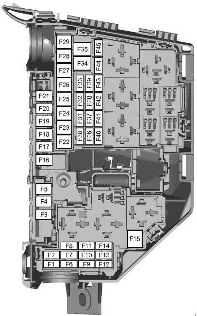 Ford S-max  2006  U2013 2015   U2013 Fuse Box Diagram