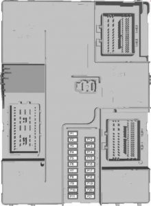 Ford Transit – fuse box diagram – body control module fuse box (2.2l diesel)