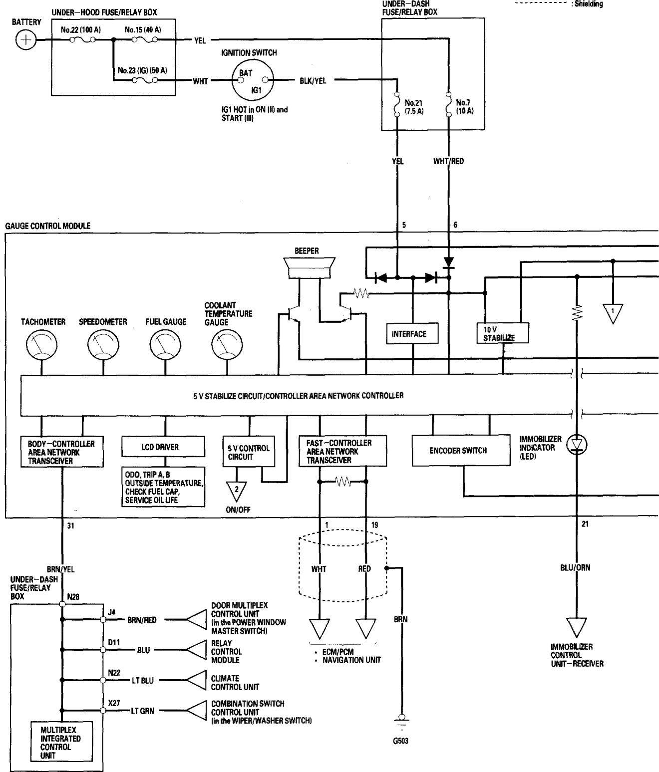 Honda Accord 2006 Wiring Diagrams Instrumentation Carknowledge Schematics Diagram Part 1