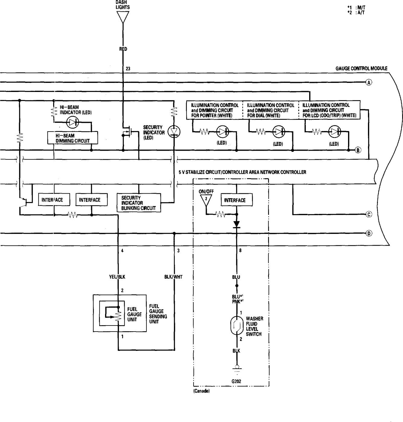 Honda Accord 2006 Wiring Diagrams Instrumentation Carknowledge Switch Diagram 1994 Gx630 Part 2
