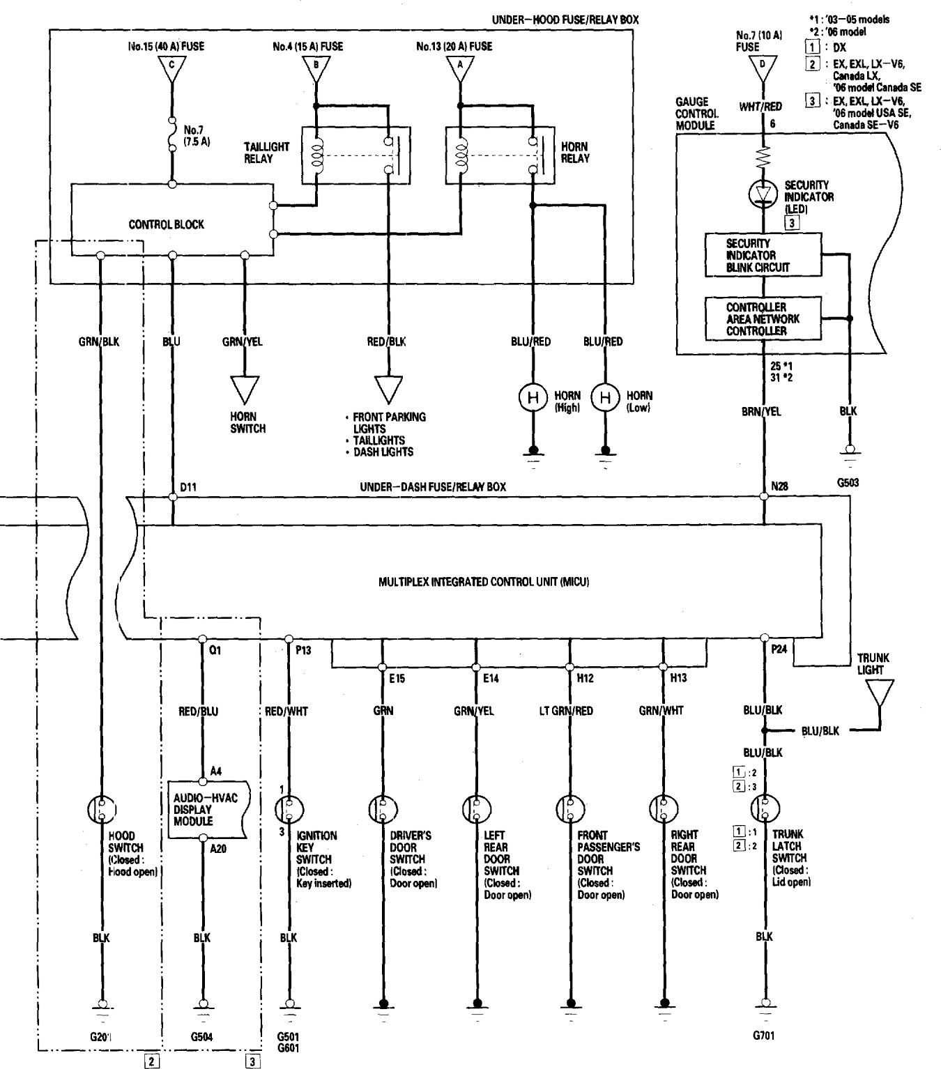 2006 honda accord wiring diagram - wiring diagram rule-upgrade-a -  rule-upgrade-a.agriturismoduemadonne.it  agriturismoduemadonne.it