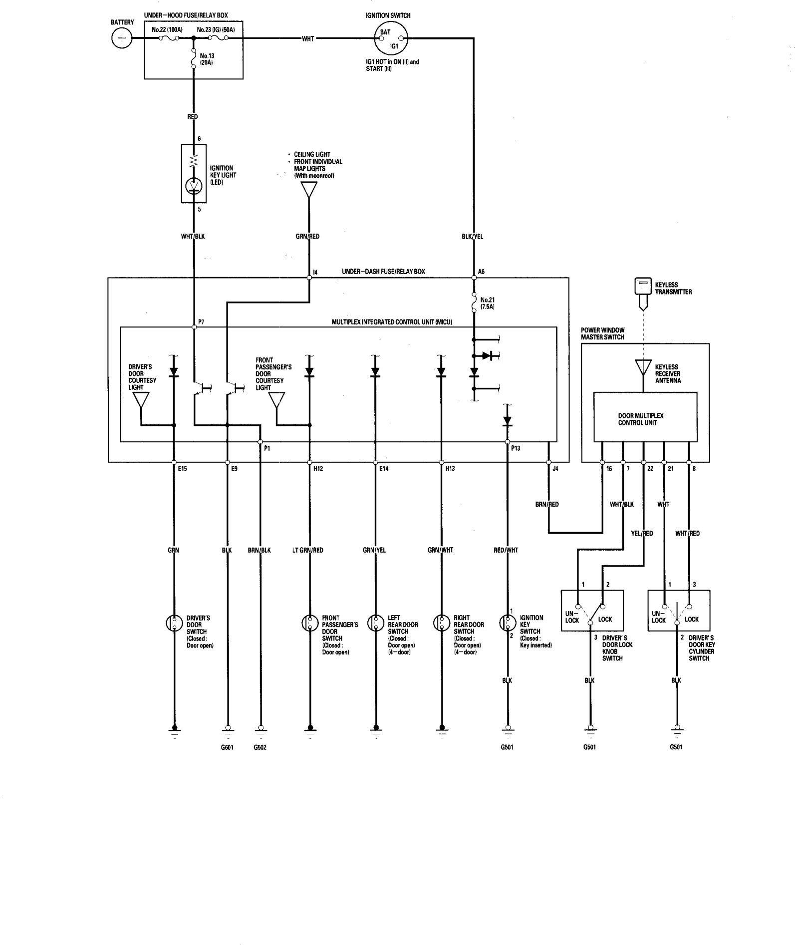 honda accord  2006  - wiring diagrams