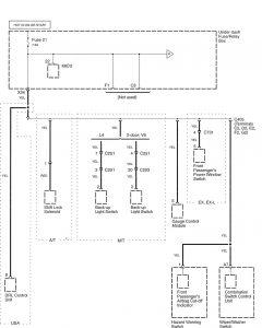 Honda Accord - wiring diagram - power distribution (part 12)