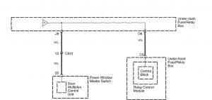 Honda Accord - wiring diagram - power distribution (part 13)