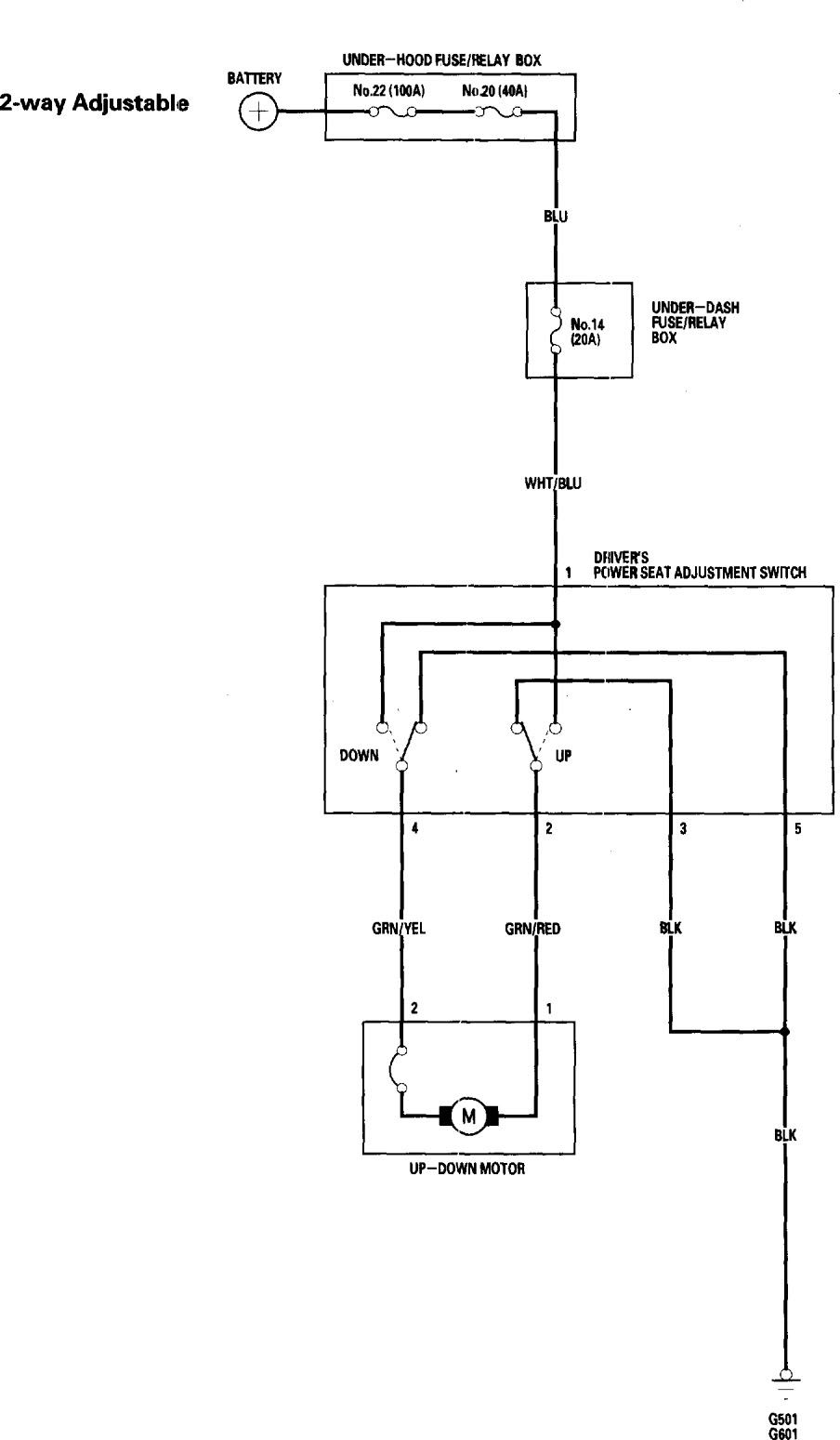 honda accord (2006) - wiring diagrams - power seat - carknowledge.info  carknowledge.info