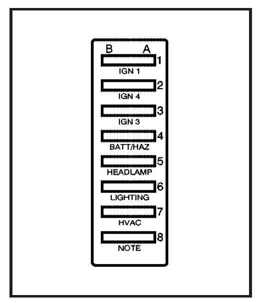 gmc topkick  2007   u2013 fuse box diagram