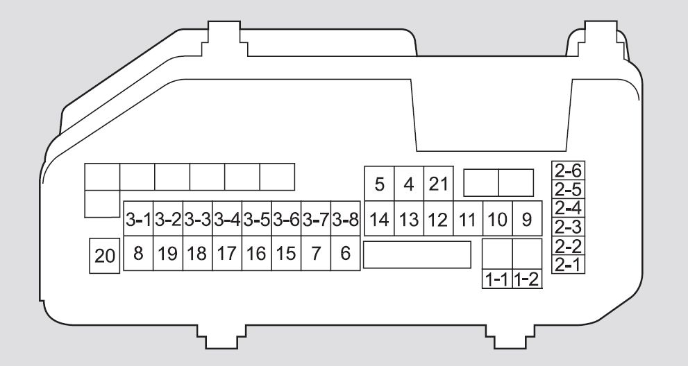 Honda Accord 2011 2012 Fuse Box Diagram Carknowledge Info