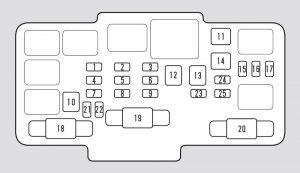 honda element 2003 fuse box diagram carknowledge. Black Bedroom Furniture Sets. Home Design Ideas