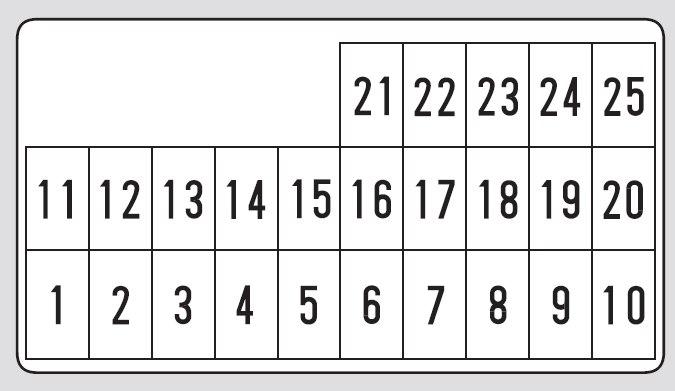 2010 Mercury Milan Fuse Box Diagram