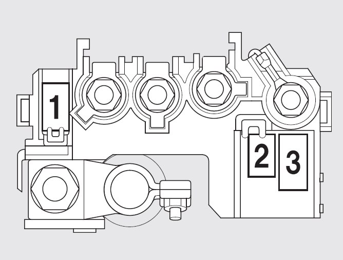 Honda Fit  2011   U2013 Fuse Box Diagram