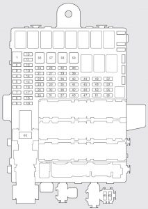 honda fit (2009 – 2010) – fuse box diagram - carknowledge.info  carknowledge.info