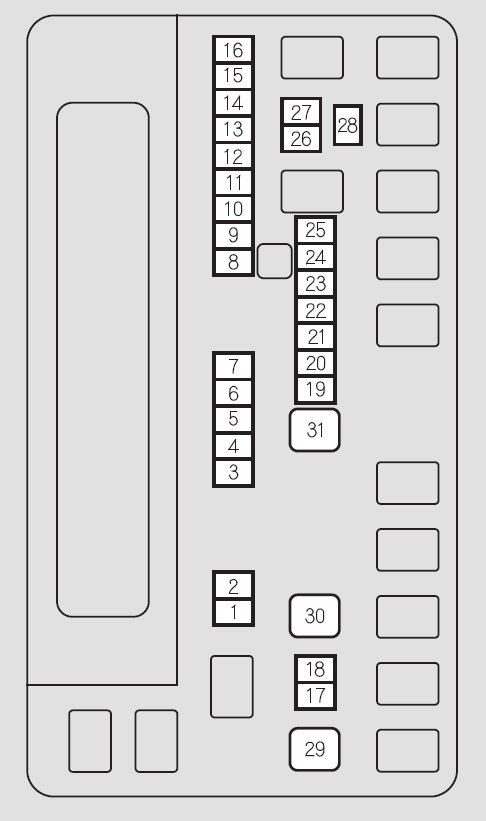 Honda Odyssey (2011) – fuse box diagram - Carknowledge.infoCarknowledge.info