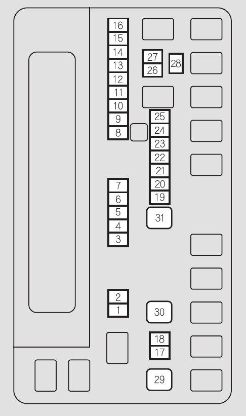 honda odyssey  2014   u2013 fuse box diagram