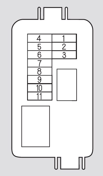 honda odyssey 2006 2007 fuse box diagram carknowledge. Black Bedroom Furniture Sets. Home Design Ideas