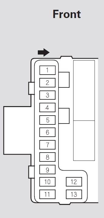 Honda Pilot  2007  U2013 2008   U2013 Fuse Box Diagram